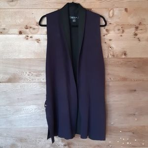 Long Vest with Side lacing